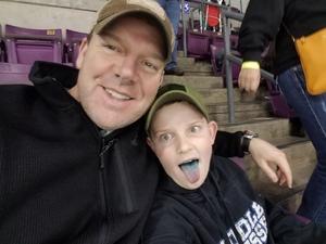 Chip attended Colorado College Tigers vs. Nebraska Omaha - NCAA Hockey on Jan 14th 2017 via VetTix