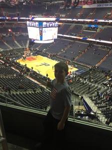 Sean attended Washington Wizards vs. Portland Trail Blazers - NBA on Jan 16th 2017 via VetTix