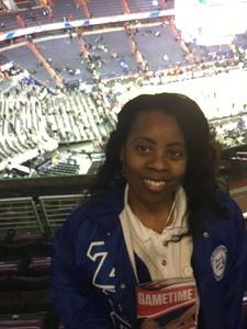 Katrina attended Washington Wizards vs. Portland Trail Blazers - NBA on Jan 16th 2017 via VetTix