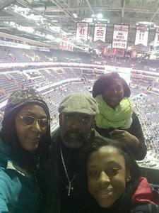 Ty attended Washington Wizards vs. Portland Trail Blazers - NBA on Jan 16th 2017 via VetTix
