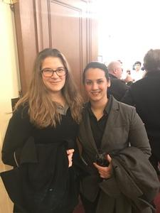 Angela attended Juanjo Mena Conducts Prokofiev, Weinberg and Tchaikovsky Featuring Violinist Gidon Kremer - Presented by the Boston Symphony Orchestra on Jan 19th 2017 via VetTix