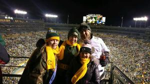 Christopher attended Green Bay Packers vs. New York Giants - NFL Playoffs Wild Card Game on Jan 8th 2017 via VetTix