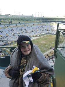 Brian attended Green Bay Packers vs. New York Giants - NFL Playoffs Wild Card Game on Jan 8th 2017 via VetTix
