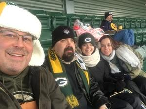 OEF OIF veteran attended Green Bay Packers vs. New York Giants - NFL Playoffs Wild Card Game on Jan 8th 2017 via VetTix