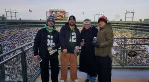Chris attended Green Bay Packers vs. New York Giants - NFL Playoffs Wild Card Game on Jan 8th 2017 via VetTix