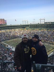 alex attended Green Bay Packers vs. New York Giants - NFL Playoffs Wild Card Game on Jan 8th 2017 via VetTix