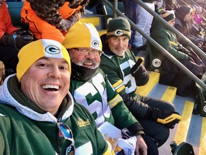 Frank attended Green Bay Packers vs. New York Giants - NFL Playoffs Wild Card Game on Jan 8th 2017 via VetTix