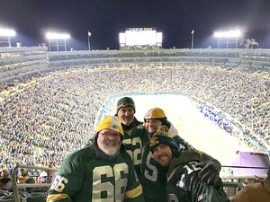 Tyler attended Green Bay Packers vs. New York Giants - NFL Playoffs Wild Card Game on Jan 8th 2017 via VetTix