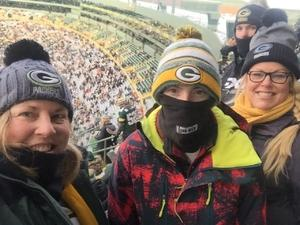 Heather attended Green Bay Packers vs. New York Giants - NFL Playoffs Wild Card Game on Jan 8th 2017 via VetTix