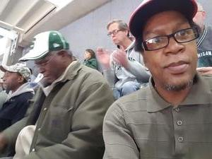 Wendell Dale Malone attended Michigan State Spartans vs. Purdue - NCAA Men's Basketball on Jan 24th 2017 via VetTix