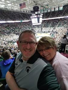 Ronald attended Michigan State Spartans vs. Ohio State - NCAA Men's Basketball on Feb 14th 2017 via VetTix
