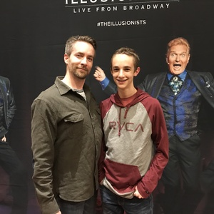 Thomas attended The Illusionists - Live From Broadway - Operation Date Night on Jan 18th 2017 via VetTix