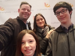 Raymond attended Enchantment Family Concert on Jan 15th 2017 via VetTix
