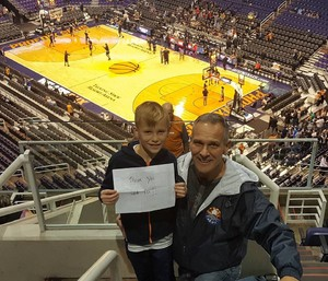 Chief66 attended Phoenix Suns vs. Utah Jazz - NBA on Jan 16th 2017 via VetTix