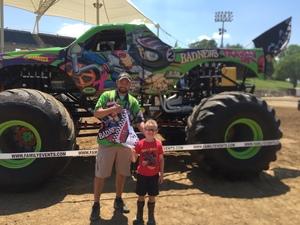 Brandon attended Monster Truck Nationals - Sunday on Jun 11th 2017 via VetTix