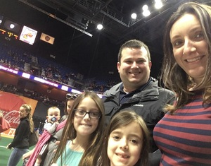 Eric attended New England Black Wolves - Buffalo Bandits - Military Appreciation Night - National Lacrosse League on Feb 19th 2017 via VetTix