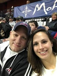 Amber attended New England Black Wolves - Buffalo Bandits - Military Appreciation Night - National Lacrosse League on Feb 19th 2017 via VetTix