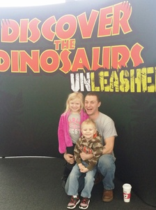 Gary attended Discover the Dinosaurs - Unleashed on Feb 18th 2017 via VetTix