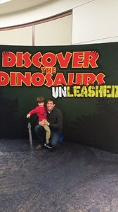 Chris Sanders attended Discover the Dinosaurs - Unleashed on Feb 18th 2017 via VetTix