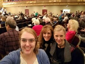 Kerry attended Andris Nelsons Conducts Gubaidulina and Shostakovich - Presented by the Boston Symphony Orchestra on Feb 23rd 2017 via VetTix