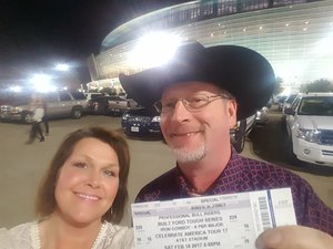James attended PBR Built Ford Tough Series - Iron Cowboys on Feb 18th 2017 via VetTix
