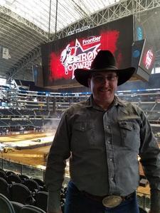 Coy attended PBR Built Ford Tough Series - Iron Cowboys on Feb 18th 2017 via VetTix