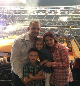Brent attended PBR Built Ford Tough Series - Iron Cowboys on Feb 18th 2017 via VetTix