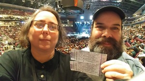 John attended Brad Paisley - Life Amplified World Tour With Special Guest Chase Bryant and Rising-star Lindsay Ell on Feb 17th 2017 via VetTix