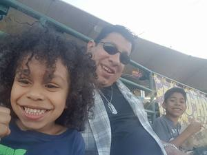 MARIO attended Honor Row - Arizona State Sun Devils vs. CSU Bakersfield - NCAA Men's Baseball - Friday on Apr 21st 2017 via VetTix