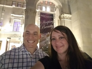 Marshal attended The Sleeping Beauty - Presented by Ballet San Antonio on Feb 17th 2017 via VetTix