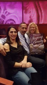 William attended The Sleeping Beauty - Presented by Ballet San Antonio on Feb 18th 2017 via VetTix