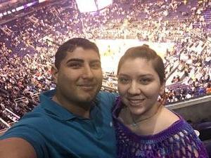 Atom Sky attended Phoenix Suns vs. Los Angeles Lakers - NBA on Feb 15th 2017 via VetTix