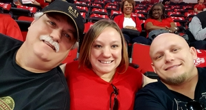 Douglas attended NC State Wolfpack vs. Notre Dame - NCAA Men's Basketball on Feb 18th 2017 via VetTix
