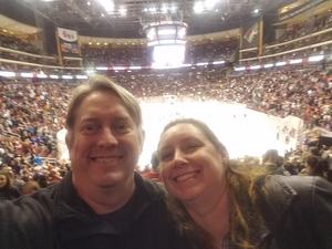 Douglas attended Arizona Coyotes vs. Anaheim Ducks - NHL on Feb 20th 2017 via VetTix