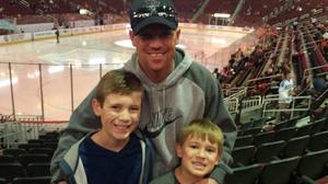 Robert attended Arizona Coyotes vs. Anaheim Ducks - NHL on Feb 20th 2017 via VetTix