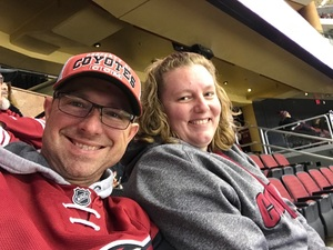 Marc attended Arizona Coyotes vs. Anaheim Ducks - NHL on Feb 20th 2017 via VetTix