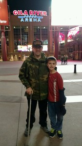 dustin attended Arizona Coyotes vs. Anaheim Ducks - NHL on Feb 20th 2017 via VetTix