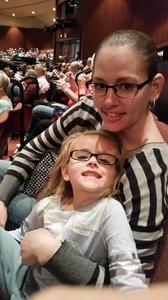 Bridget attended Rhythm of the Dance on Feb 12th 2017 via VetTix