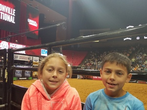 Winslow attended PBR Professional Bull Riders on Mar 5th 2017 via VetTix