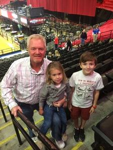 Cameron attended PBR Professional Bull Riders on Mar 5th 2017 via VetTix