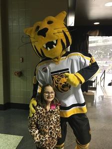 Melisa attended Colorado College Tigers vs. Minnesota Duluth - NCAA Hockey on Feb 17th 2017 via VetTix