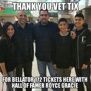 Jorge A Favela attended Bellator 172 - Fedor vs. Mitrione - Presented by Bellator MMA - Live Mixed Martial Arts on Feb 18th 2017 via VetTix