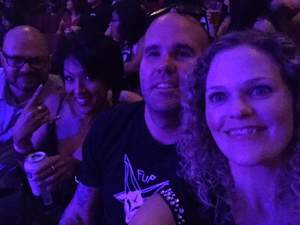 christopher attended Damage Inc - a Tribute to Metallica on Mar 18th 2017 via VetTix