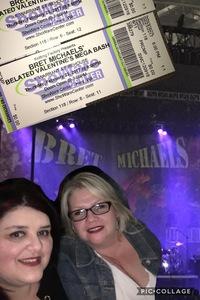 Jeffrey attended Bret Michaels - Valentines Mega Bash - Live in Concert on Feb 23rd 2017 via VetTix