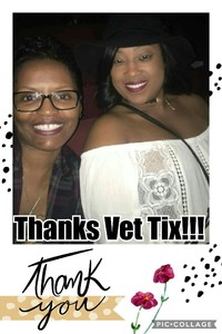 Stacy attended Charlie Wilson With Special Guest Fantasia and Johnny Gill on Feb 20th 2017 via VetTix