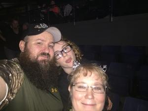 Todd attended Blake Shelton - Doing It to Country Songs Tour - Tacoma Dome on Feb 25th 2017 via VetTix