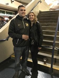 Leonard attended Blake Shelton - Doing It to Country Songs Tour - Tacoma Dome on Feb 25th 2017 via VetTix
