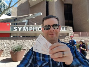 Raymond attended Disney in Concert - Saturday on Feb 25th 2017 via VetTix