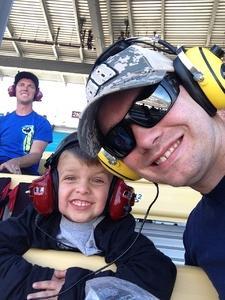 James attended Camping World 500 - Monster Energy NASCAR Cup Series - Phoenix International Raceway on Mar 19th 2017 via VetTix