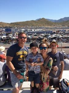 Edward attended Camping World 500 - Monster Energy NASCAR Cup Series - Phoenix International Raceway on Mar 19th 2017 via VetTix